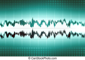 forme onde, audio