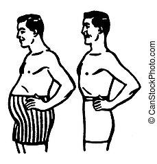 forme, paragone, corpo
