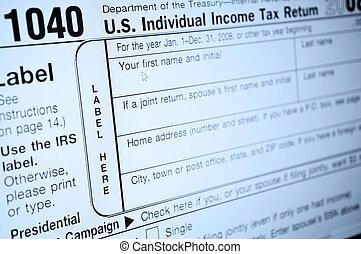 forme, tassare reddito