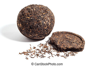 formed Pu-erh tea