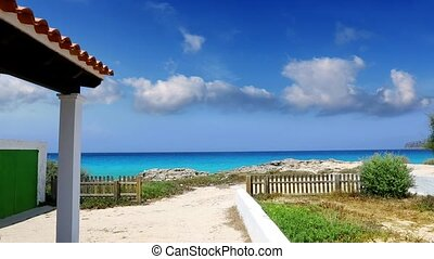 Formentera balearic white islands