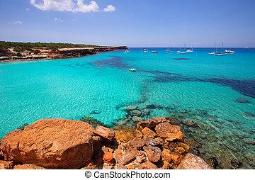 Formentera Cala Saona beach Balearic Islands - Formentera...