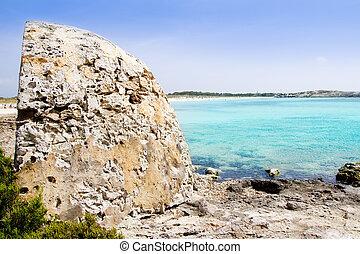 Formentera illetes illetas beach turquoise sea
