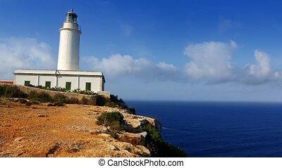 Formentera La Mola lighthouse sea - Formentera La Mola...