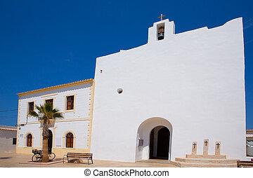 Formentera Sant Francesc San Francisco Javier church in...