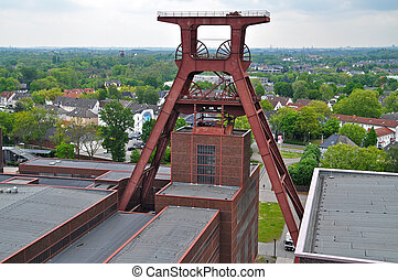 Former coal mine in Essen, Germany.