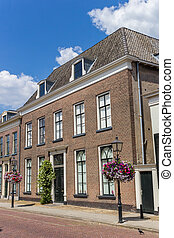Former courthouse in the historic center of Doesburg