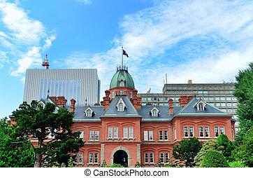 Former Hokkaido Government Office Building.