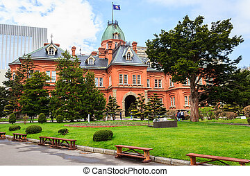 Former Hokkaido Government Office.