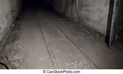 Former Soviet underground military base ghost town of Gudym...