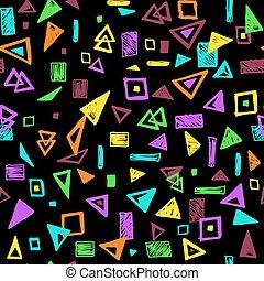 formes, modèle, géométrique, seamless