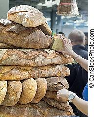 formes, pain, fait maison, autre, une