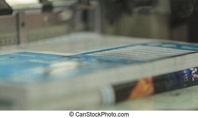formes, prêt, typographie, leaflets