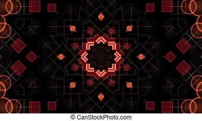 formes, rouge noir, fond