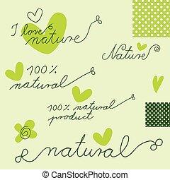 formge grundämnen, -, naturlig
