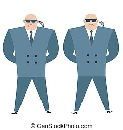 Formidable security professionals secret service bodyguards....