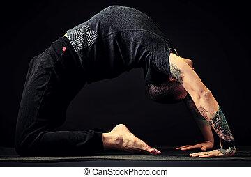formułować, yoga