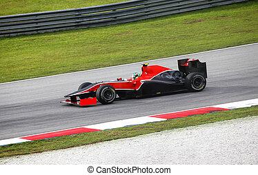 Formula 1. Sepang. April 2010 - SEPANG, MALAYSIA - APRIL 04...