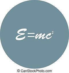 Formula, mathematics, equations icon vector image. Can also...