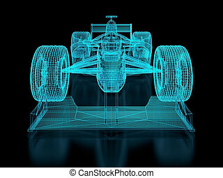 Formula One Mesh. Part of a series.