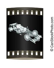 Formula One Mesh. The film strip