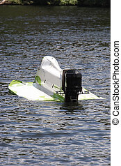 Formula one race boat