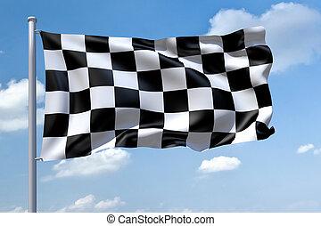 formula1, bandiera