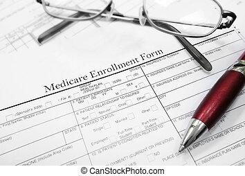 formulaire, enrollment, assurance-maladie