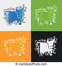 formulas:, 医療の図画, 牛