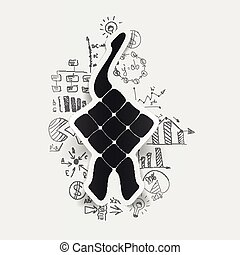 formulas:, dibujo, empresa / negocio, ketupat