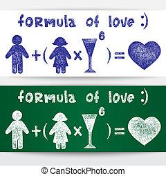 formule, amour