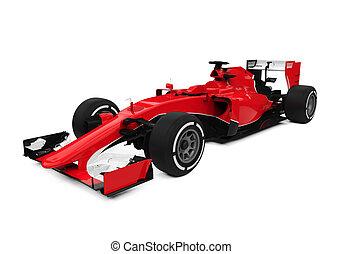 formule, race voiture, une