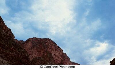 Formung, aus, schlucht, Wolke, Großartig