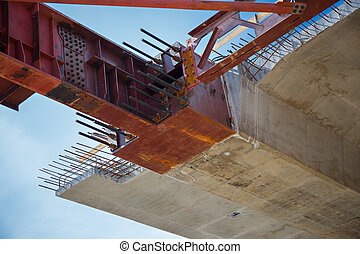 Formworks - Close up of the superstructure's bulkhead