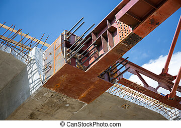 Close up of the superstructure's bulkhead