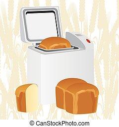 forno, pão