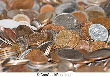 forntida, mynter, av, numismatik