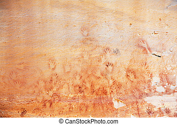 forntida teckning