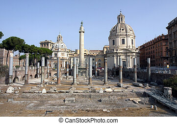 Foro Romano, Rome, Italy