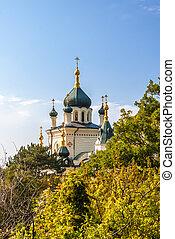 foros, igreja, em, crimea, ucrânia