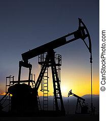 forrás, olajszivattyú