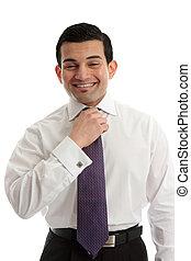 forretningsmand, glade