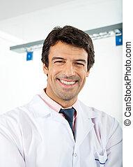 forscher, mann, glücklich