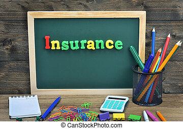 forsikring, glose