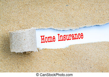 forsikring, hos, rød, text.