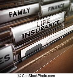 forsikring liv, kontrakt