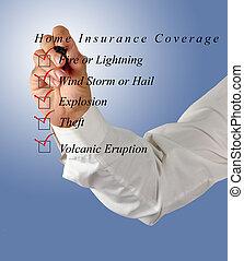forsikring til hjem, dækning
