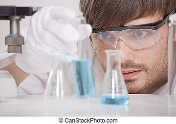forsk laboratorium.