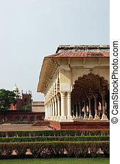 fort, agra, india, doorgang
