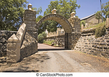 Fort Bloemfontein, dating from the Orange Free State Boer...